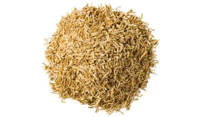 A Pile of Rice Hulls