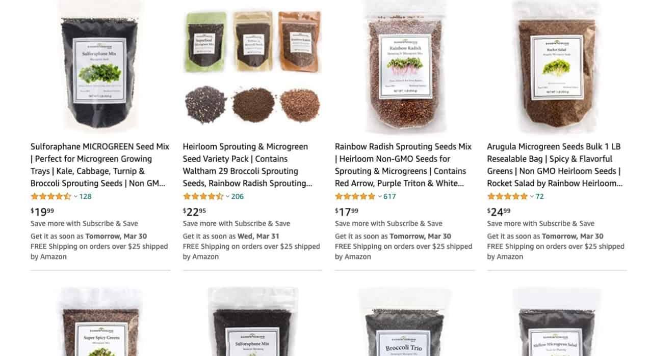 Rainbow Heirloom Seed Co Online