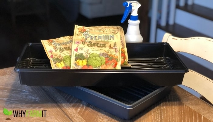 Microgreen Trays and Seeds