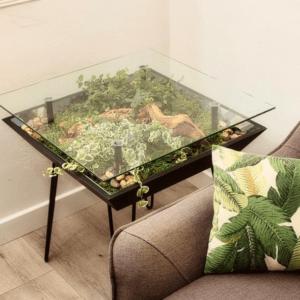 BloomingTables Side Table Terrarium
