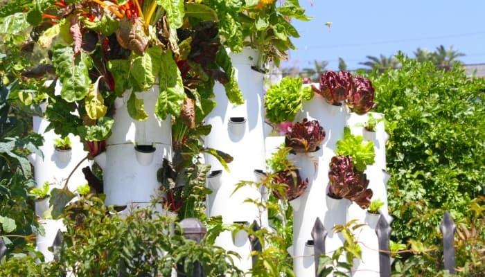 Vertical Aeroponics Garden Tower
